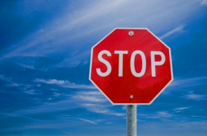 Houston OBGYN | Stop Sign